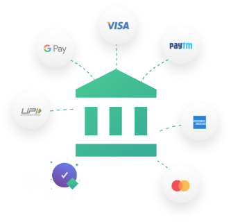 Accept Payments via Credit/Debit Cards, Net Banking, Wallets, Upi & more